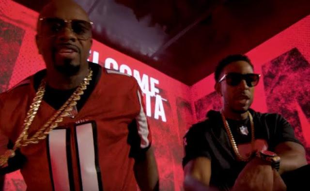 Ludacris,Jermaine Dupri Release New 'Welcome To Atlanta': Falcons Remix