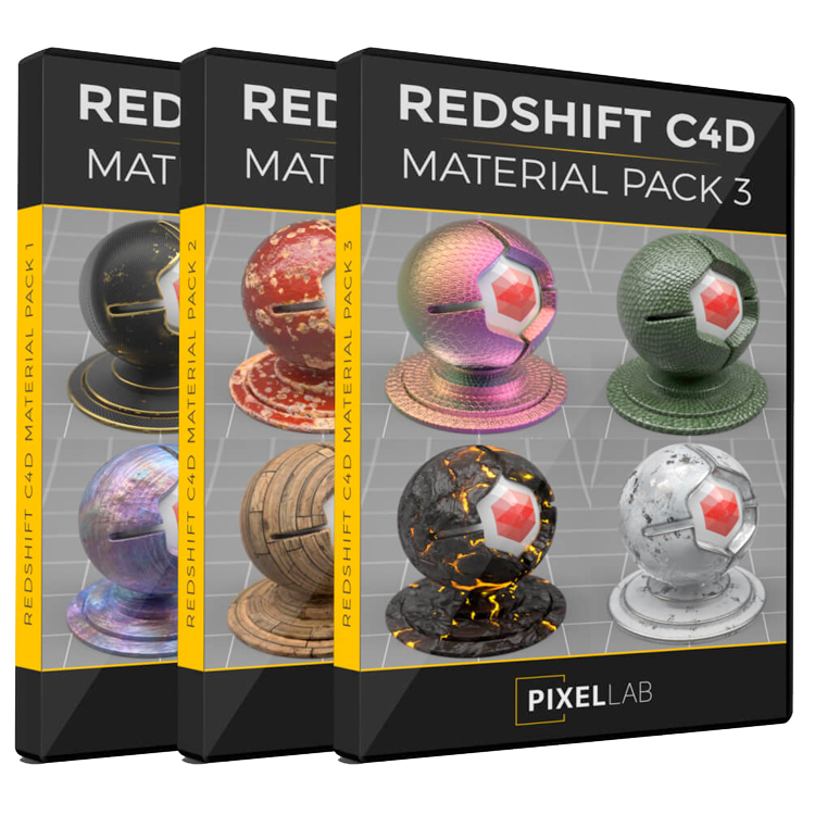 IT Việt Nam: Material Pack 3 for Cinema 4D Free Download