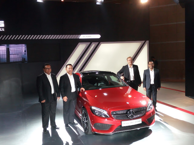 Mercedes-Benz AMG C 43 Coupe Indonesia