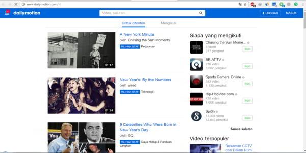 Kumpulan Situs Video Selain Youtube Yang Bisa Kamu Coba