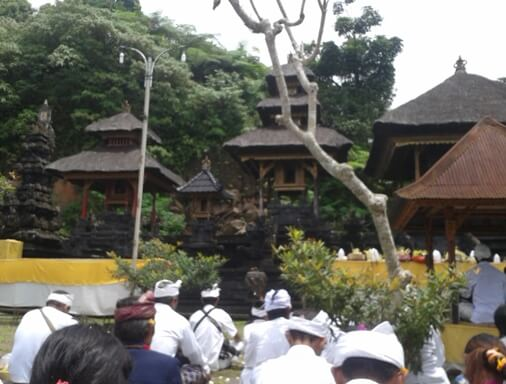 The temple is located inwards the eastern utilization of Bali BaliBeaches: Pura Lempuyang Luhur Bali - The Unique as well as Sacred temple inwards Bali