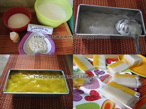 Cara Membuat Es Gabus (Es Busa)