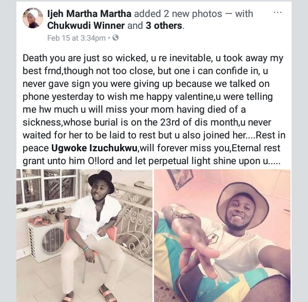 Photos: Young man drowns in swimming pool on Valentine