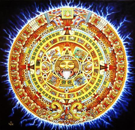 Calendario Azteca.Nepohualtzintzin Computo Azteca Origen Del Calendario Azteca
