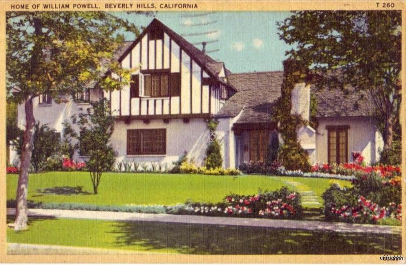 Phyllis loves classic movies the homes of jean harlow for Powell house