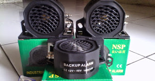 Jual Back Buzzer NSP Back up Alarm