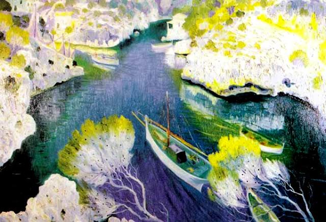 Casimiro Martínez Tarrassó, La Cala, Mallorca en Pintura, Mallorca pintada, Paisajes de Mallorca
