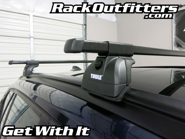 Rack Outfitters Bmw X1 Thule Podium Square Bar Base Roof