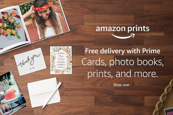 how to use amazon photo print