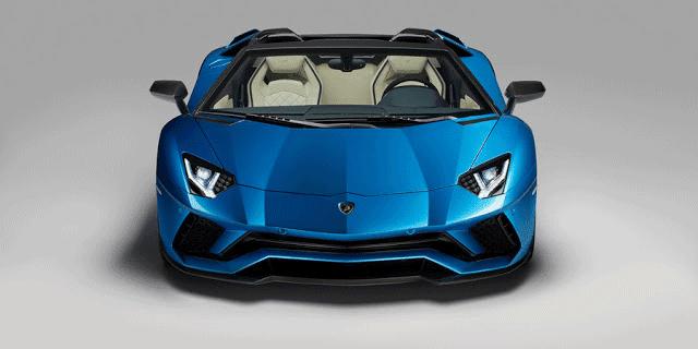 Lamborghini Aventador S Roadster 0-60 mph