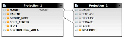 IMPLEMENTING AND DISPLAYING STANDARD HIERARCHY WITH SAP HANA