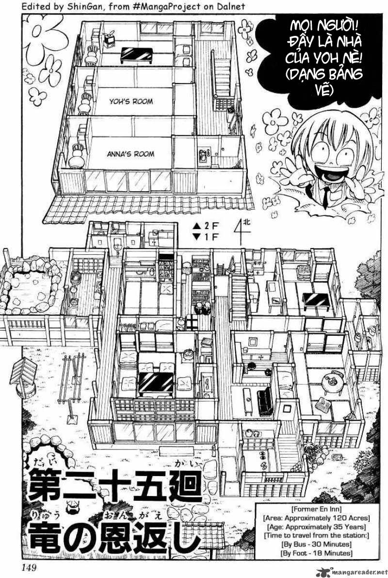 Shaman King [Vua pháp thuật] chap 25 trang 3