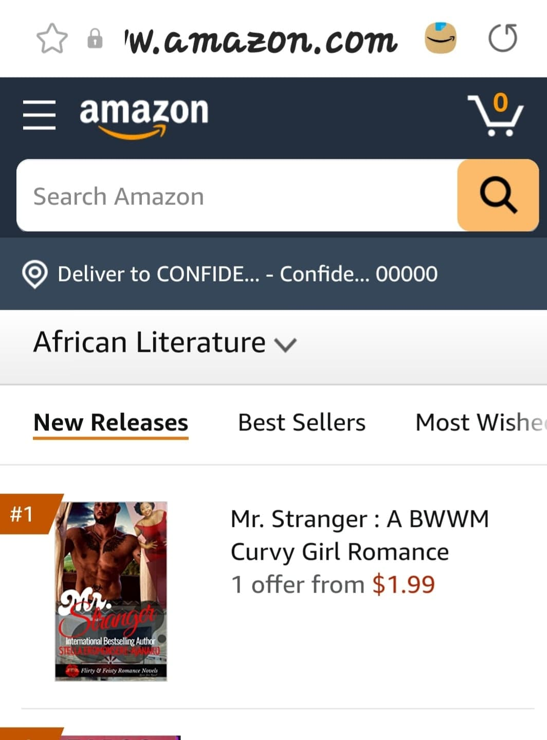 ¸.•* 🔮MY░HOT ░NEW░ RELEASE🔮 🔥🔥🔥🔥Mr. Stranger is Amazon #1 New Release🔥🔥🔥🔥