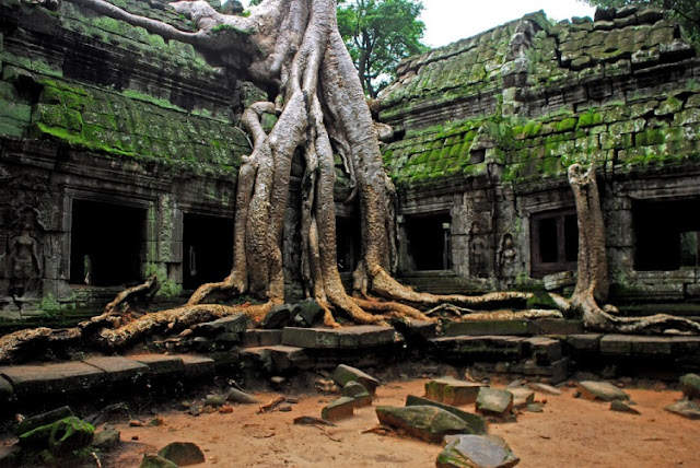 Places to visit in the center of Cambodia