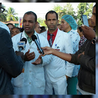 C.M.D filial San Juan en desacuerdo con asistir a áreas con quipos inservibles, Autoridades de Salud Pública no han cumplido con los acuerdos.