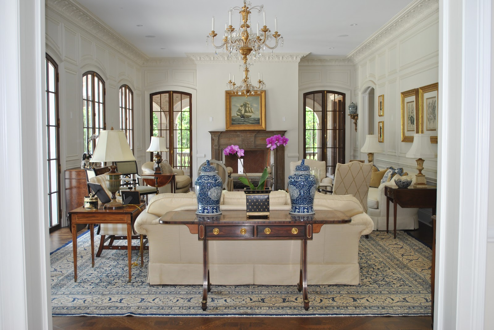enchanting home staging small living rooms   A living room is born....... - The Enchanted Home