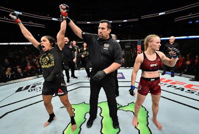 Amanda Nunes vence a Valentina e fica Invicta no UFC
