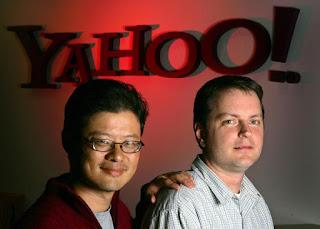 """""""Los cofundadores de Yahoo: Jerry Yang y David Filo"""""""