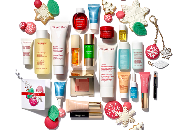 Calendario de Adviento Clarins 2016