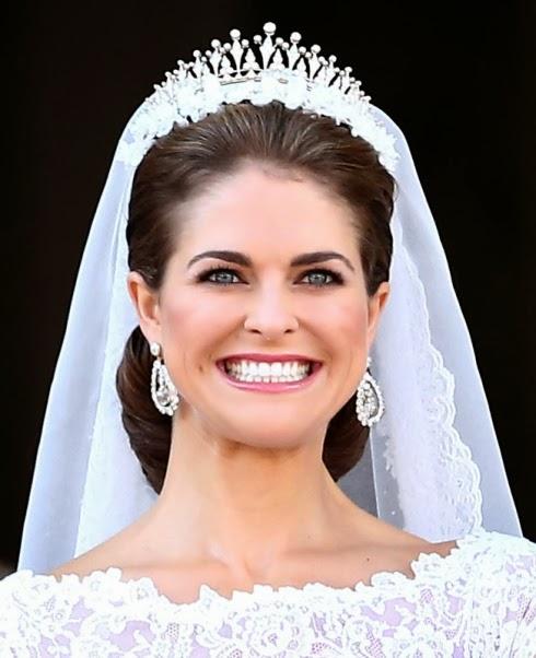 Maquillaje de novia de Magdalena de Suecia
