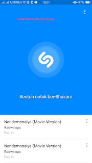 cara mengetahui judul lagu dari suara