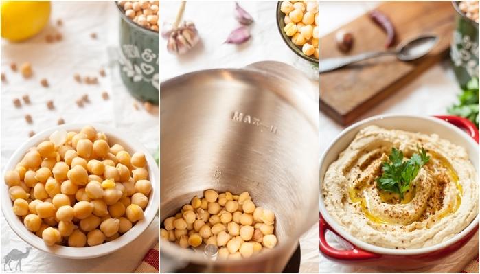 Idealny arabski hummus (hummus bi tahini)