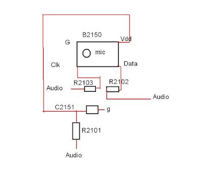 jalur mic nokia 5220 dan solusinya