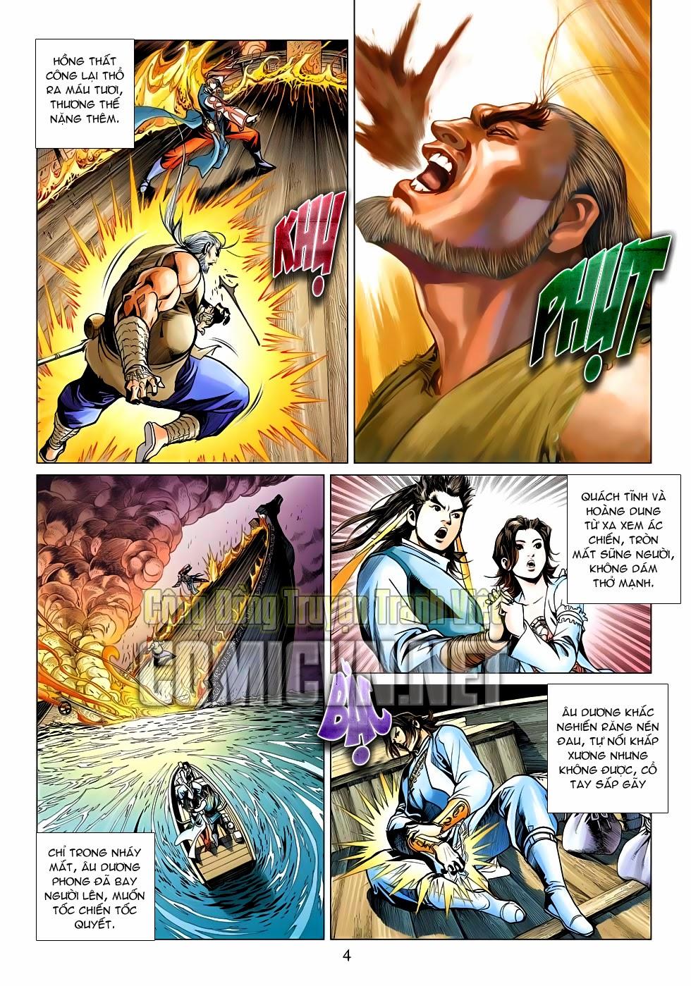 Anh Hùng Xạ Điêu anh hùng xạ đêu chap 53: lâm nguy thụ mệnh đả cẩu học pháp trang 5