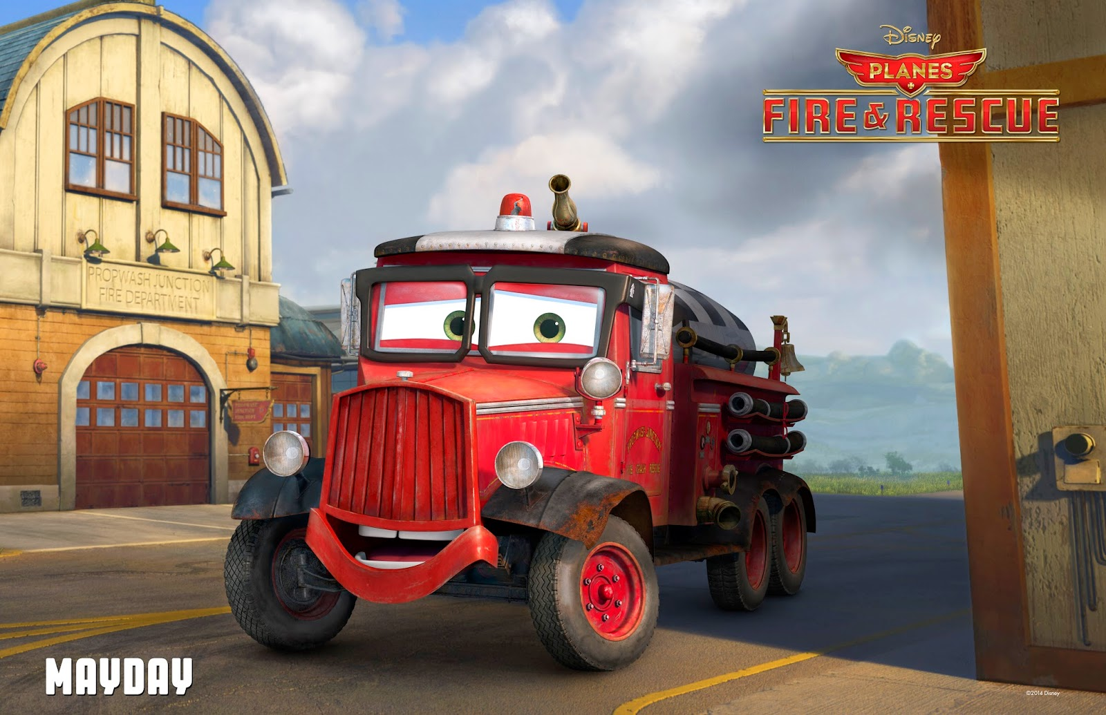 MayDay from Disney's Planes: Fire & Rescue