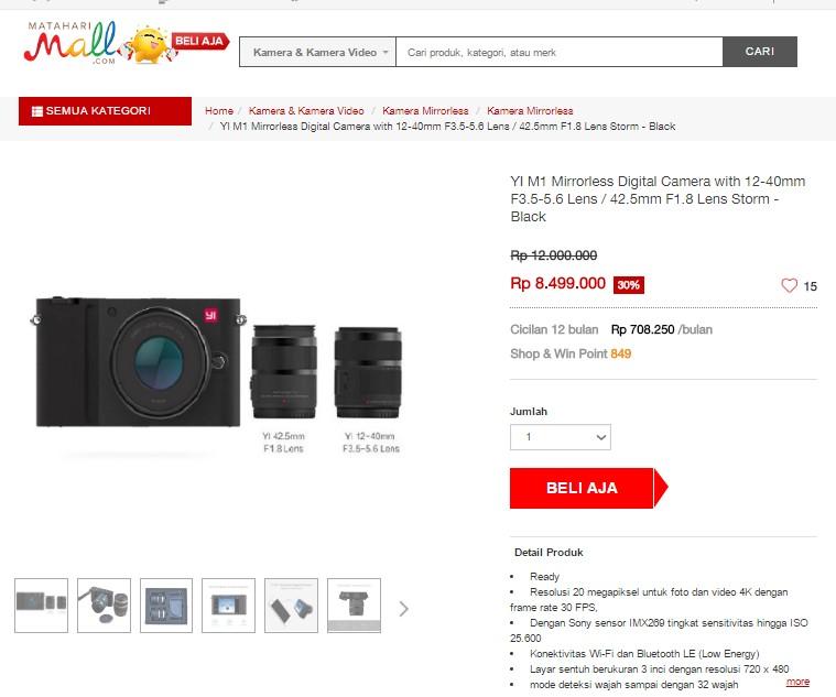 Jual Camera CyberShot