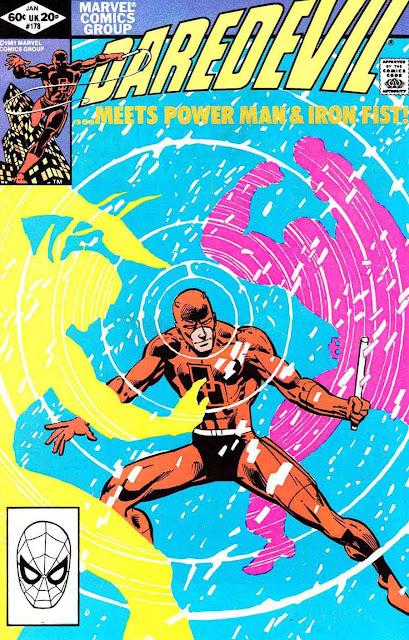 Daredevil v1 #178 marvel comic book cover art by Frank Miller