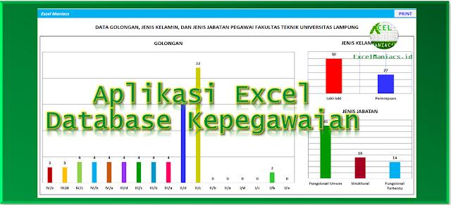 Aplikasi Database Kepegawaian Excelmaniacs