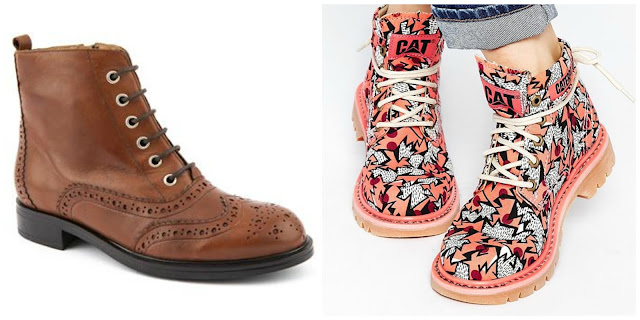 patterned cat boots