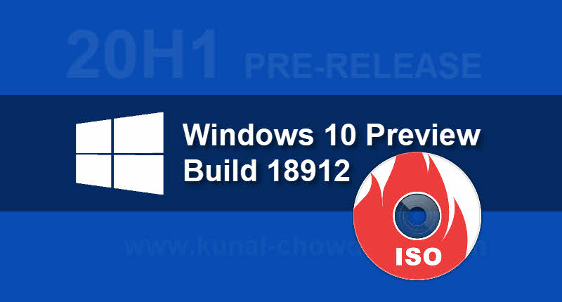 Here's how to download the ISO image of the Windows 10 Preview Build 18912