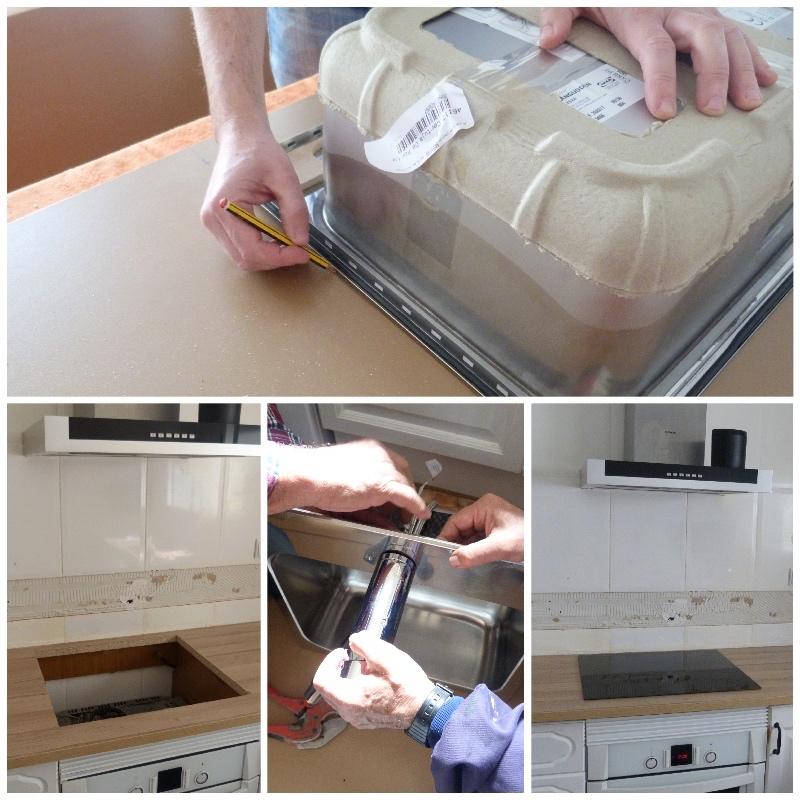 Tutorial cambio de encimera de cocina e instalación del fregadero