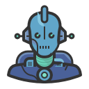 Robot 1 by Diversity Avatars. http://www.iconarchive.com/show/avatars-icons-by-diversity-avatars/robot-01-icon.html