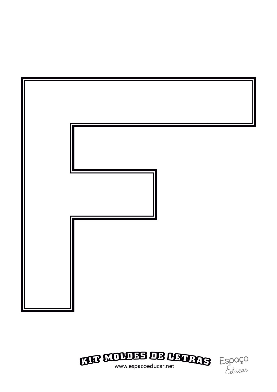 molde das letras do alfabeto em tamanho grande of u00cdcio