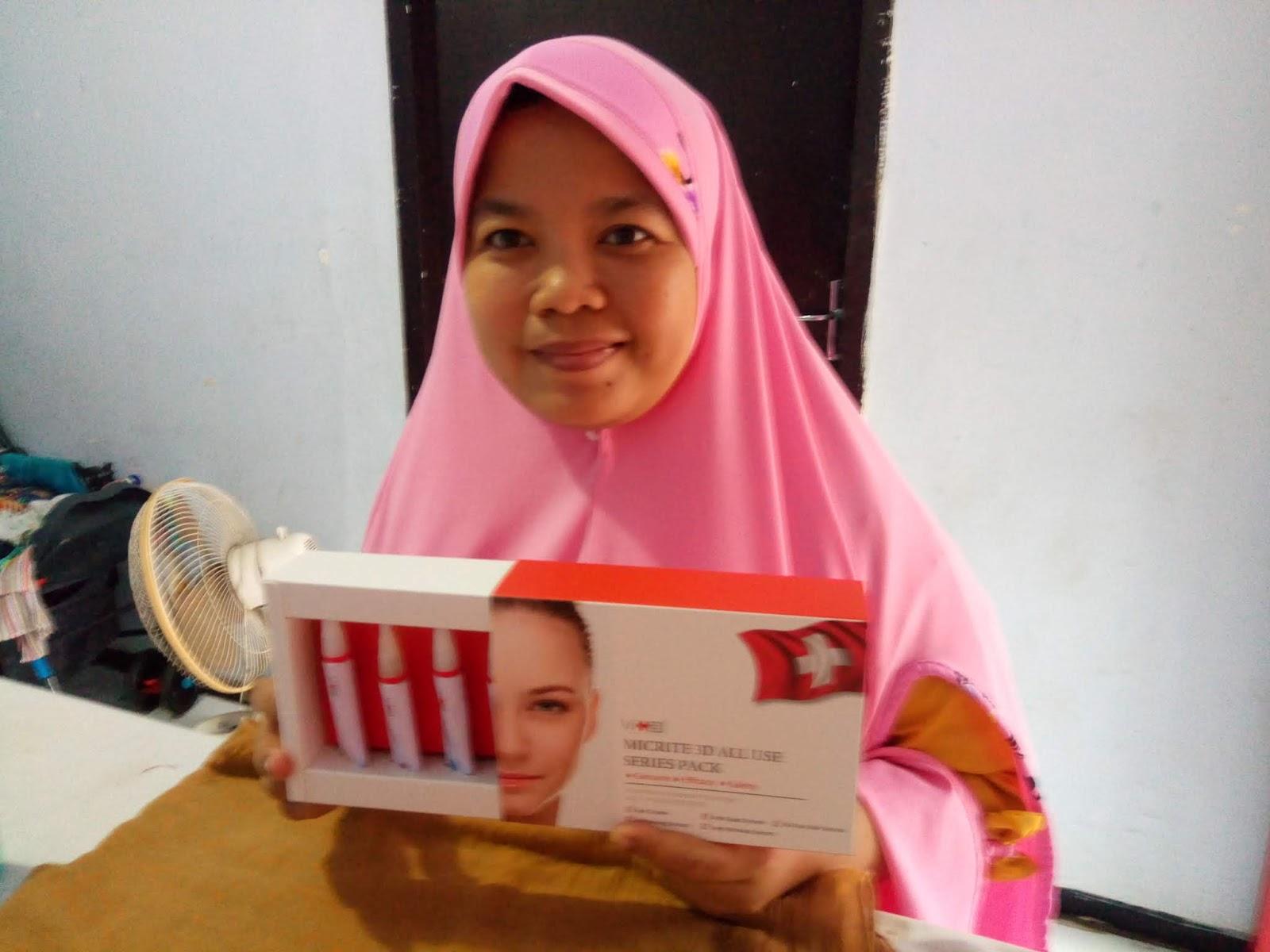Istana Bunda Vian Produk Ukm Bumn Bella Dan Balon Merah Saya Memilih Micrite 3d All Use Eye Cream Sebagai Pertama Langkahnya Berikut