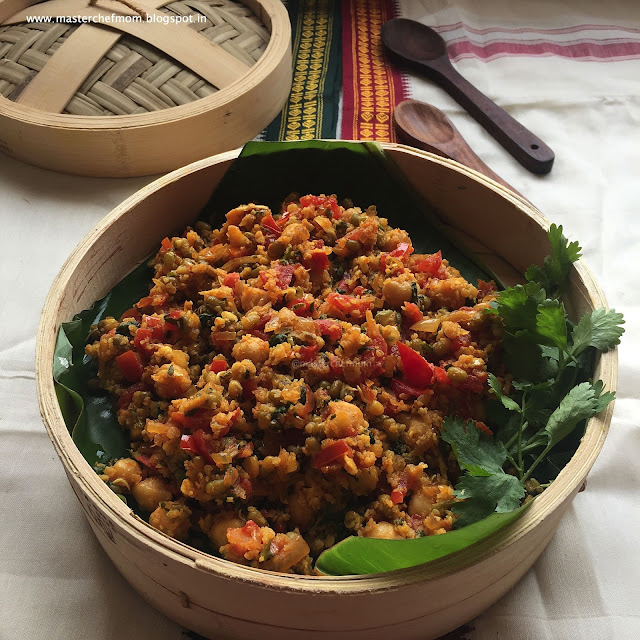 Kuthiraivali Aval Salad