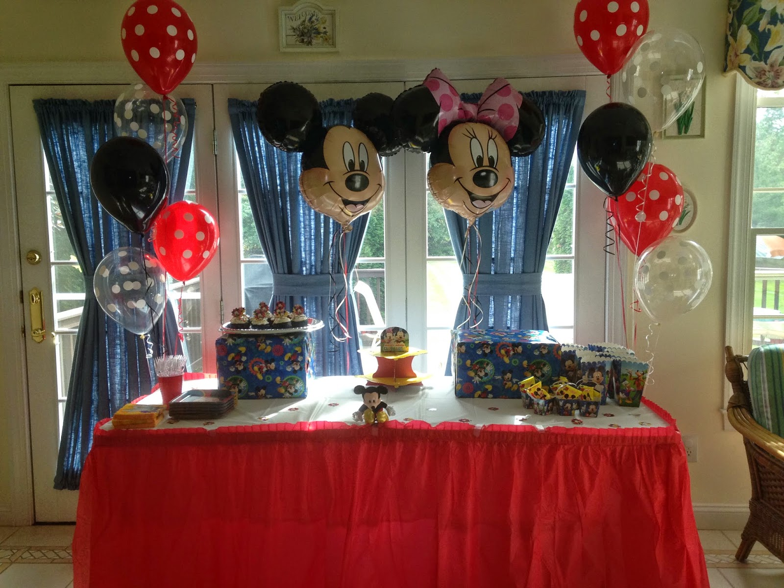 My Mom Threw A Make Wish Send Off Party For Ed And Invited All Of Our Family Finally We Were Going To Disney World