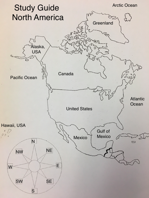 Map Of North America Quiz.Mrs Coulon S Class Blog North America Map Quiz