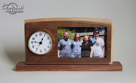 Clock Picture Frame by The Carmichael Workshop
