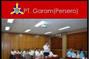 KARIR PT. GARAM (Persero)