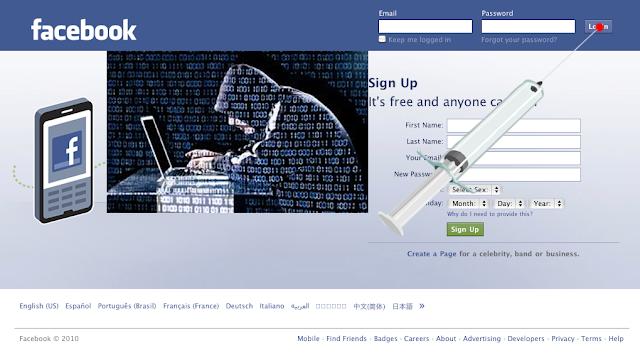 Akun Facebook Terkena Malware