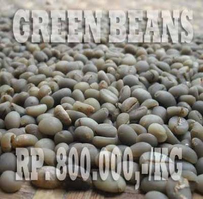 gambar greans beans biji kopi luwak hijau tanpa kulit tanduk 2016