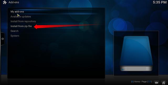 إضافة GOLDEN IPTV على برنامج KODI لمشاهدة القنوات المشفرو والمفتوحة
