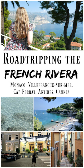 PIN FOR LATER: Roadtripping the South of France! Exploring the French Riviera, including Monaco, Villefranche-sur-mer, Cap Ferrat, Antibes, and Cannes.
