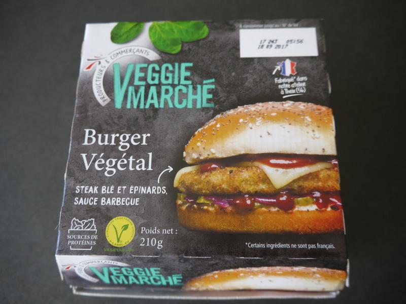 les d lices de reinefeuille j 39 ai test pour vous le burger v g tal de veggie march. Black Bedroom Furniture Sets. Home Design Ideas