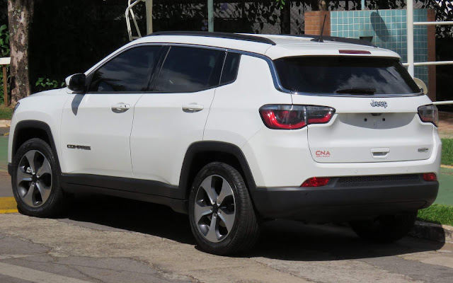 Jeep Compass 2017 Flex - Branco