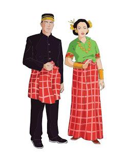 pakaian adat mandar sulawesi barat